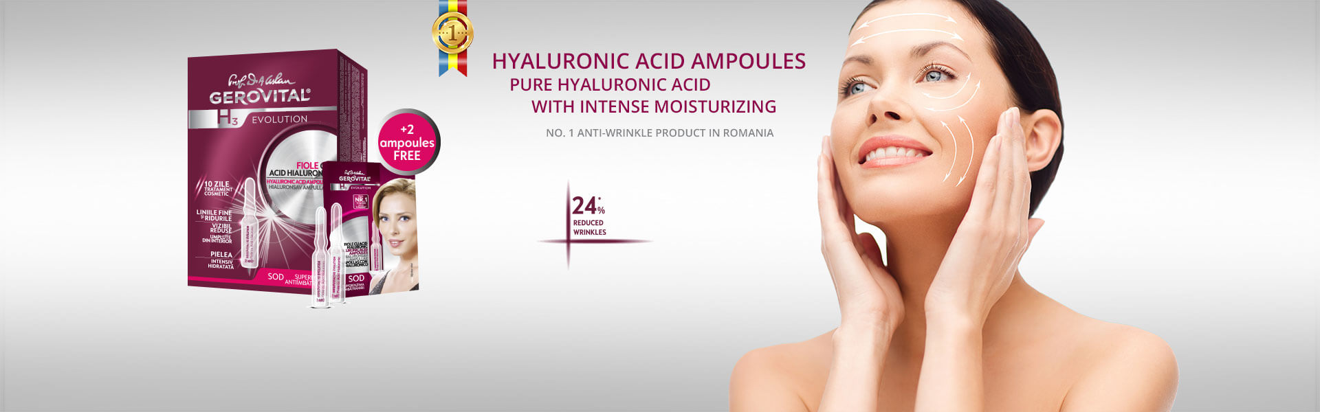 Hyaluronic acid ampoules – exclusive