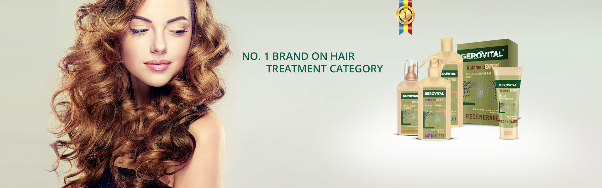 Romanian's no.1 brand on hair treatment