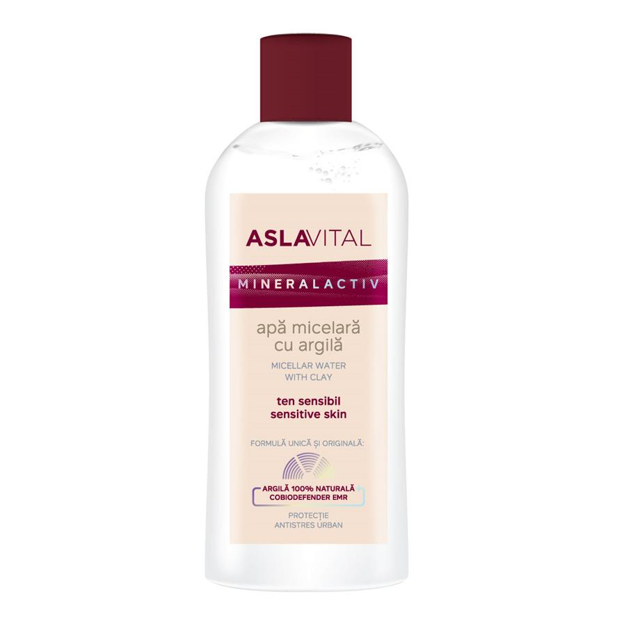 Micellar water with clay Aslavital Mineralactiv