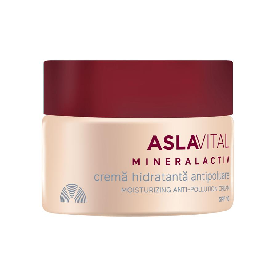 Moisturizing anti-pollution cream spf 10 Aslavital Mineralactiv