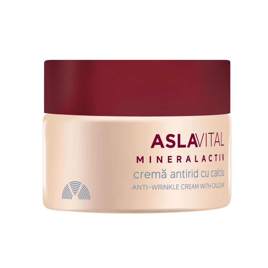 Anti-wrinkle cream with calcium Aslavital Mineralactiv