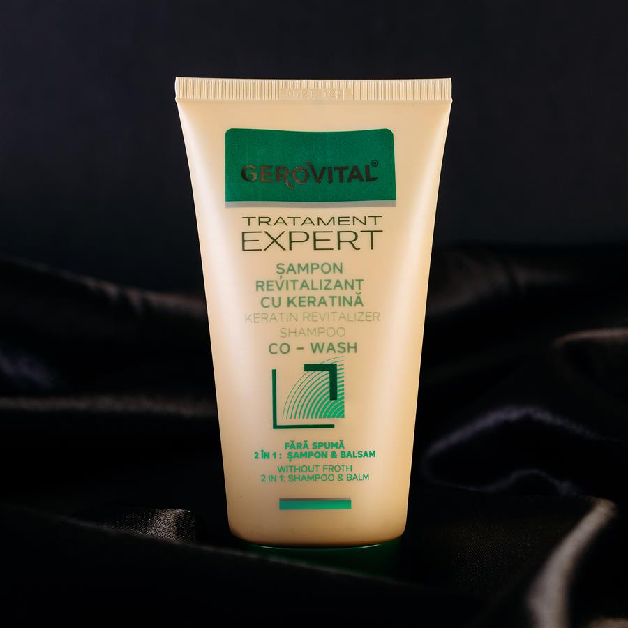Co-wash revitalizer shampoo gerovital tratament expert