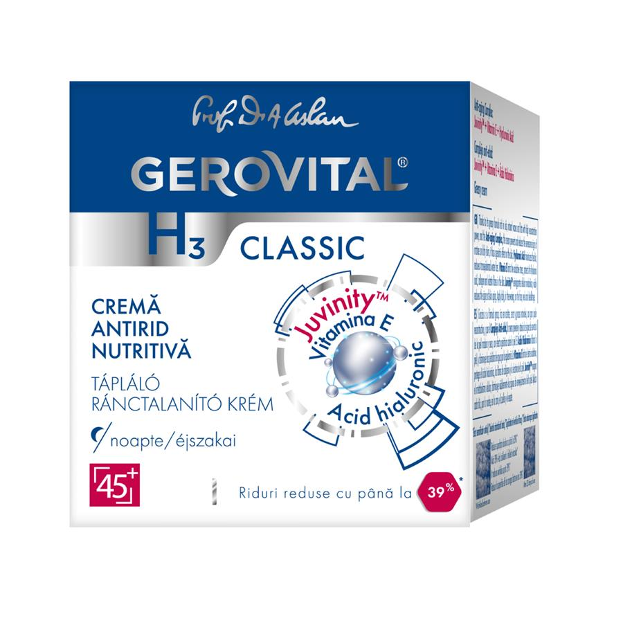Gerovital H3 Classic Nourishing anti-wrinkle cream