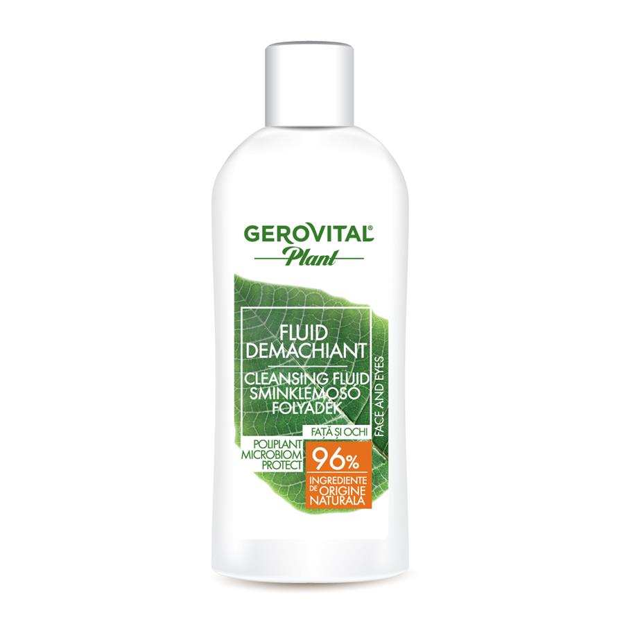 Gerovital Plant Cleansing Fluid Microbiom Protect