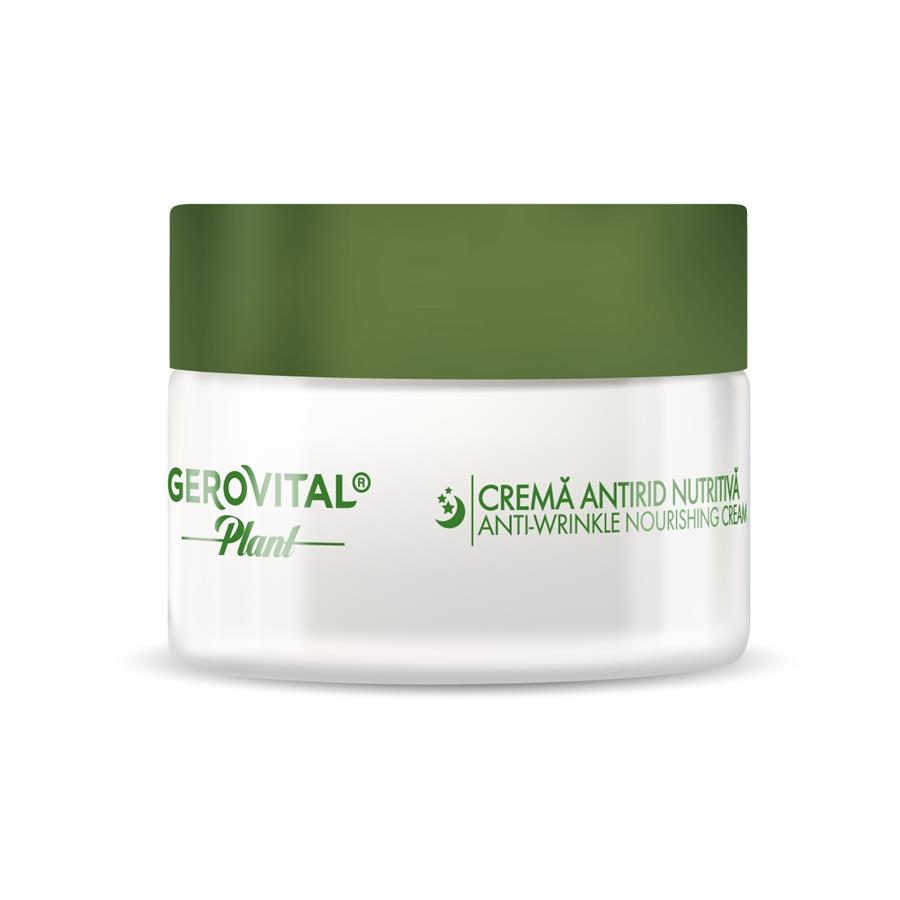 Anti-Wrinkle Nourishing Cream Microbiom Protect Gerovital Plant