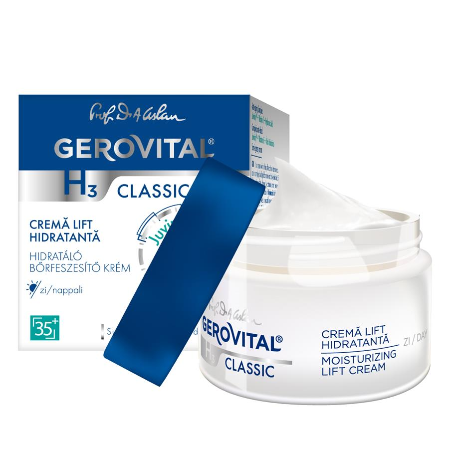 Moisturizing lift cream day care Gerovital H3 Classic