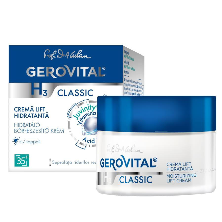 Moisturizing lift cream, day care Gerovital H3 Classic