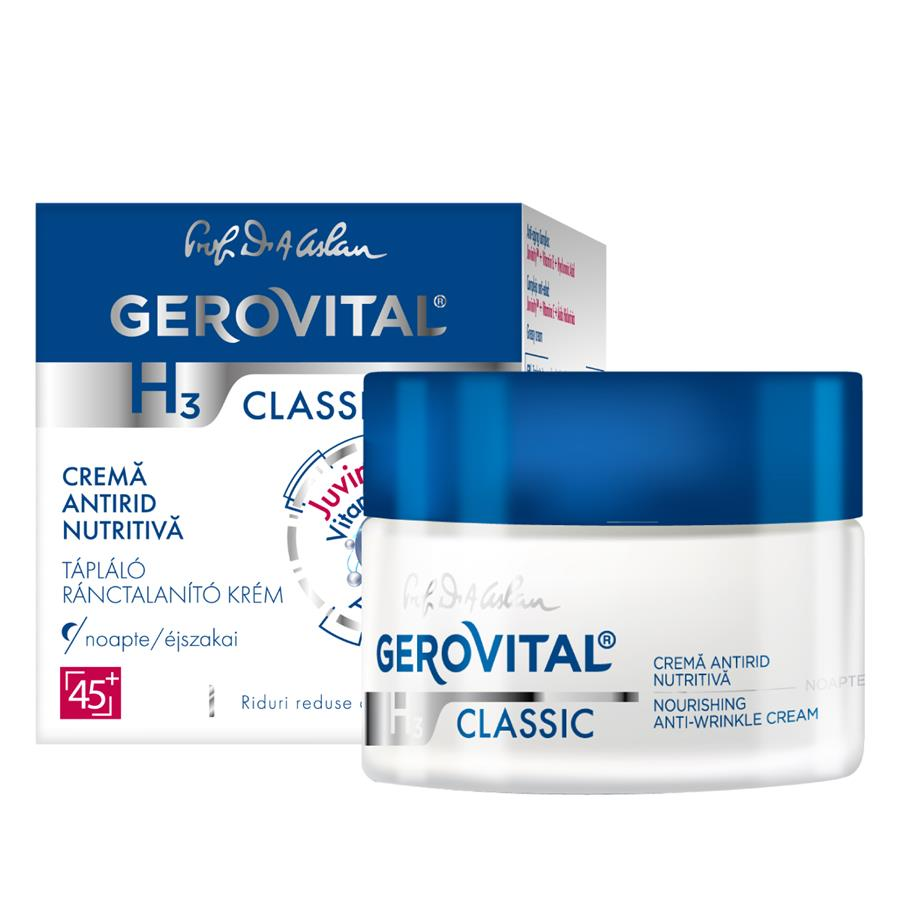 Nourishing anti-wrinkle cream - Gerovital H3 Classic