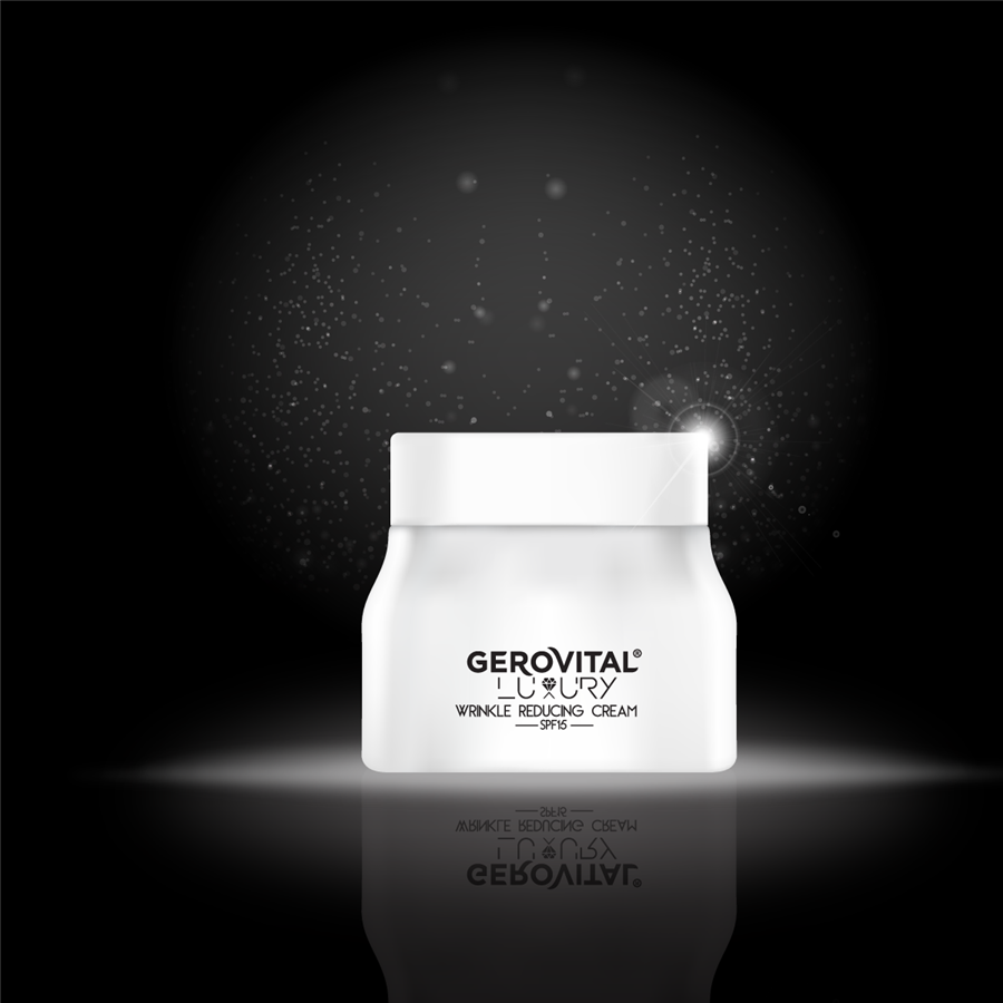 Wrinkles reducing cream SPF 15 - Gerovital Luxury