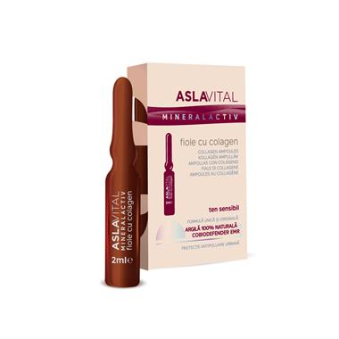 Collagen ampoules Aslavital Mineralactiv 2ml