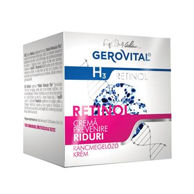 Wrinkle prevention cream Gerovital H3 Retinol