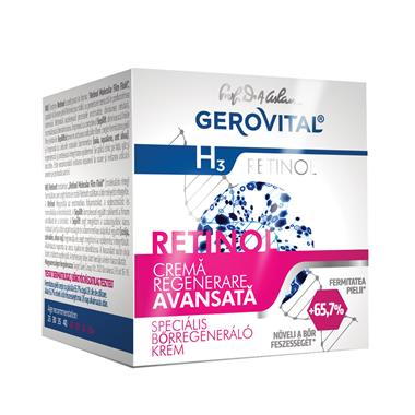 Advanced regenerating cream Gerovital H3 Retinol