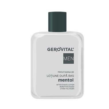 After Shave Lotion Menthol Gerovital Men