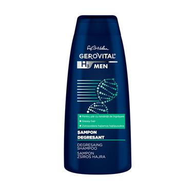 Gerovital H3 Men Degresaing Shampoo