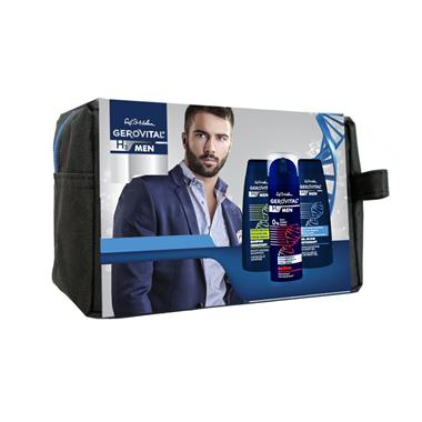 Gift Pack Pouch Gerovital H3 Men Active