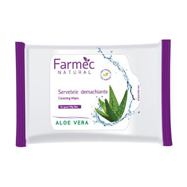 Cleansing Wipes - Aloe Vera