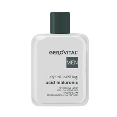 After Shave Lotion With Hyaluronic Acid Gerovital Men