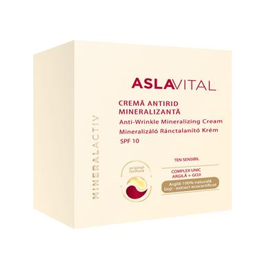 Anti-wrinkle mineralizing cream SPF 10