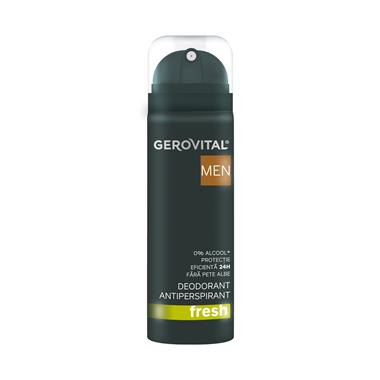 Antiperspirant Deodorant Fresh Gerovital Men