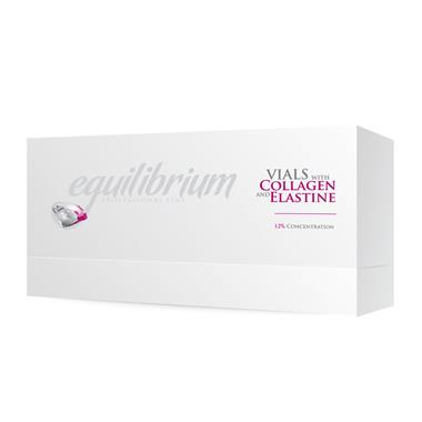 Vials with Collagen and Elastine 12% Gerovital H3 Equilibrium