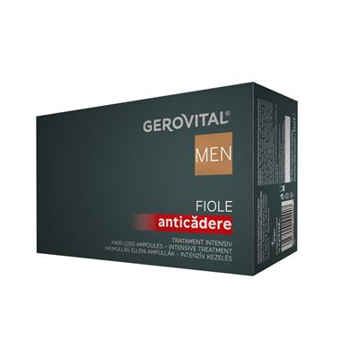 Anti Hair-Loss Ampoules – Intensive Treatment Gerovital Men