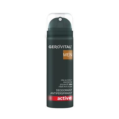 Gerovital Men Antiperspirant Deodorant Active