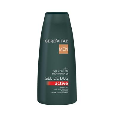 Gerovital Men Shower gel 3 in 1 Active