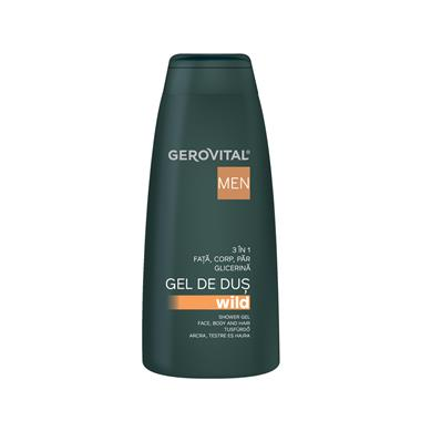 Gerovital Men Shower gel 3 in 1 Wild