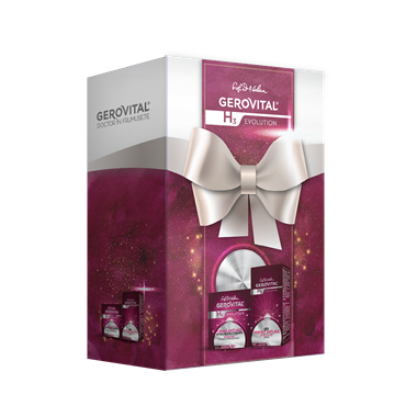 Gift Pack Gerovital H3 Evolution: Anti-aging Cream and Perfect Anti-Ageing Serum