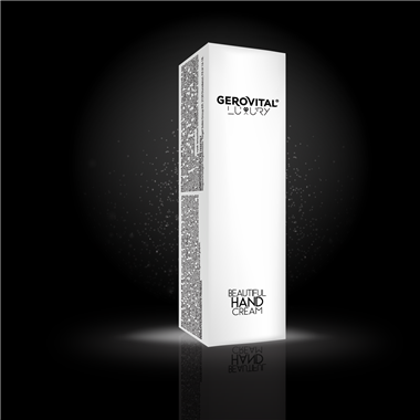 Beautiful hand cream Gerovital Luxury