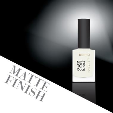 Matte Top Coat gerovital beauty