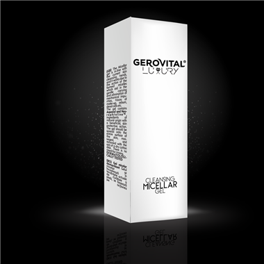 Cleansing micellar gel Gerovital Luxury