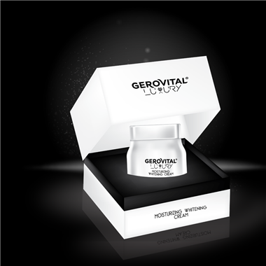 Moisturizing whitening cream - Gerovital Luxury