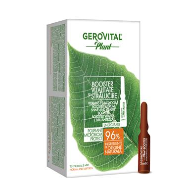 Shine and Vitality Booster Microbiom Protect Gerovital Plant