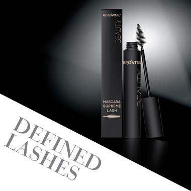 Supreme lash mascara gerovital beauty